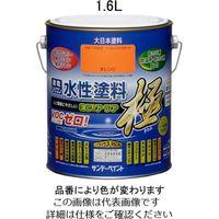 エスコ(esco) 1.6L [水性]多目的塗料(アイボリー) 1セット(3200mL:1600mL×2缶) EA942E-22(直送品)