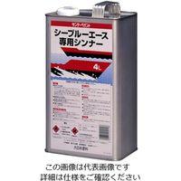 エスコ(esco) 4.0L 船舶用塗料専用シンナー(うすめ液) 1セット(8000mL:4000mL×2缶) EA942EN-36(直送品)