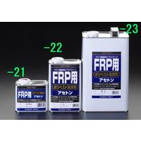 エスコ(esco) 4.0L ポリエステル洗浄剤(FRP用) 1セット(8000mL:4000mL×2缶) EA942ES-23(直送品)