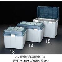 エスコ(esco) 780x460x490mm 収納ケース(樹脂製) 1セット(2個) EA505-14(直送品)