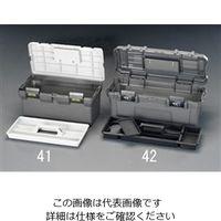 エスコ(esco) 555x230x220mm 工具箱(中皿付) 1セット(2個) EA505AB-42(直送品)