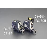 esco(エスコ) メジャー(ホルダー付) 19mm幅×5.5m EA720CS-5EH 1セット(3個) (直送品)