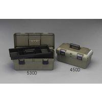 エスコ(esco) 530x253x220mm 工具箱(中皿付/OD色) 1セット(2個) EA505K-530D(直送品)