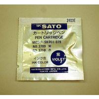 エスコ [紫]温湿度記録計用カートリッジペン EA742Sー11 1セット(3個入) EA742Sー11 (直送品)