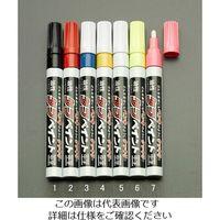 エスコ(esco) [黒/中字] 油性タフペイント(10本) 1セット(30本:10本×3箱) EA765MT-1(直送品)