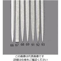 エスコ(esco) 140mm/#140ダイヤモンドニードル鑢(燕尾) 1セット(2本) EA826VJ-93(直送品)