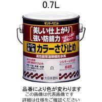 エスコ(esco) 0.7L [水性]錆止め塗料(アイボリー) 1セット(2100mL:700mL×3缶) EA942EB-64(直送品)