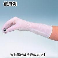 リーブル ニトリルノンパウダーロング M 1000枚入  No.993 1ケース(1000枚:100枚入×10袋) (直送品)