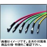 プラス・テク テクノエール TA12×8.5 30m巻 グリーン 金具付き TA12x8.5 1巻(30m)(直送品)