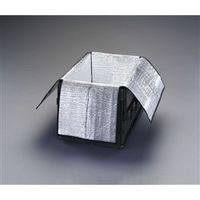 esco(エスコ) 490x330x300mm保冷インナーボックス(50Lオリコン用) EA506AA-250 1セット(2個) (直送品)