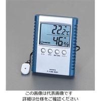 esco(エスコ) デジタル温度・湿度計 EA742GA-4 1セット(2個) (直送品)