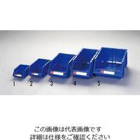 esco(エスコ) 300x480x178mmパーツトレー(重ね置型/青) EA661CS-5 1セット(4個) (直送品)