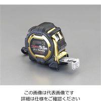 esco(エスコ) メジャー(マグネット爪) 25mm幅×5.5m EA720JJ-155 1セット(2個) (直送品)