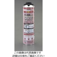 エスコ(esco) 1000g 発泡ウレタンフォーム(一液性/ガン用/ピンク) 1セット(2000g:1000g×2本) EA930TC-12(直送品)