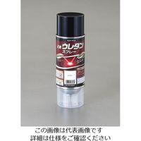 エスコ(esco) 320ml 強溶剤2液ウレタンスプレー(クリアー) 1セット(640mL:320mL×2本) EA942EM-103(直送品)