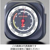 エスコ(esco) 66x68mm 高度計 1セット(2個) EA739XA-15(直送品)