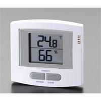 エスコ(esco) 最高・最低温度・湿度計 1セット(2個) EA742GA-2 (直送品)