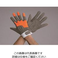 エスコ(esco) [L]手袋(レスキュー・合成革) 1セット(2双) EA353BK-2(直送品)