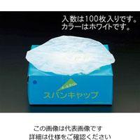 エスコ(esco) [白]クリーンキャップ(100枚) 1セット(200枚:100枚×2箱) EA355AB-5A (直送品)