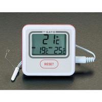 esco(エスコ) ー5℃/+50℃冷蔵庫デジタル温度計 EA722CB-13 1セット(2個) (直送品)