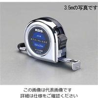 エスコ(esco) 25mmx7.5mメジャー(両面目盛/ステンレス製) 1セット(2個) EA720CG-7 (直送品)