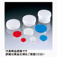 サンプラテック プラ缶 白キャップ 5mL 3-32 01765 100個 (直送品)