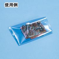 サンプラテック 静電対策袋 ポリ袋 0.05×300×400 100枚入 15886 1組 (直送品)