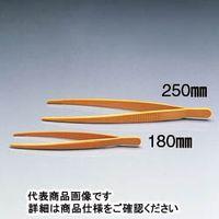 サンプラテック プラスチック ピンセット 115mm  06623 1セット(5本:1本×5) (直送品)