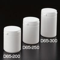 サンプラテック(SANPLATEC) セーフティキャップPP軟膏容器 D65-200 (240本入) 25653 1箱(240個) (直送品)