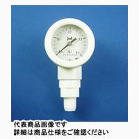 サンプラテック PTFEベローズ圧力計 ケースPP仕様 7221ー6M 20924 1個 (直送品)