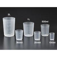 サンプラテック PPディスカップ 200mL 1000個入  01666 1箱 (直送品)