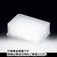サンプラテック 96穴ディーププレート γ線滅菌 8枚包装×4  19985 1組 (直送品)