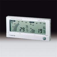 サンプラテック デジタル温湿度計 PCー7700  16515 1個 (直送品)