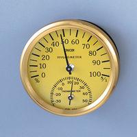 サンプラテック 温湿度計 φ68×23H  25479 1個 (直送品)