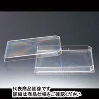 サンプラテック マイクロプレート型1分画シャーレ MPS01F04S 5枚/袋×16袋 01076 1組 (直送品)