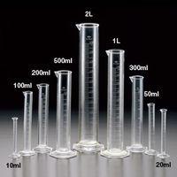 サンプラテック サンプラ TPXメスシリンダー 200mL  01015 1本 (直送品)