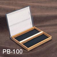 サンプラテック プレパラートボックス PBー100  00676 1個 (直送品)