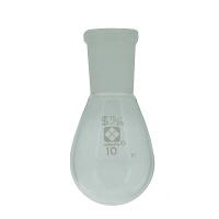 柴田科学 共通摺合なす形フラスコ 10mL 005370-1510 1個 61-4405-91 (直送品)