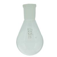 柴田科学 共通摺合なす形フラスコ 25mL 005370-1525 1個 61-4405-93 (直送品)