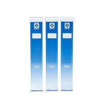 柴田科学 角形試験管 シリコンキャップ付 080540-0210A 1箱(3個) 61-4433-59 (直送品)