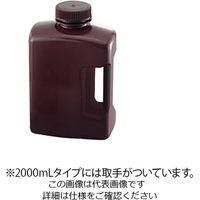 アズワン 角型瓶(HDPE製) 褐色 2000mL 583460 1本 1-1779-05 (直送品)