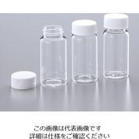 ガラスシンチレーションバイアル (20mL) キャップ別包装 PEキャップ/ライナー無し 03-337-14 1-2502-04 (直送品)