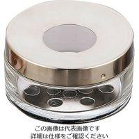 アズワン 給餌箱 硬質ガラス φ110×60mm No.10 1個 1-3355-14 (直送品)