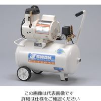 アズワン オイルレスエアーコンプレッサー DR-115-22L 1台 1-3472-01 (直送品)