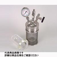 アズワン 加圧反応ガラス容器 ミニクレーブ 200mL ミニクレーブ200ml 1式 1-6929-02 (直送品)