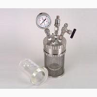 アズワン 加圧反応ガラス容器 ミニクレーブ 250mL ミニクレーブ250ml 1式 1-6929-03 (直送品)