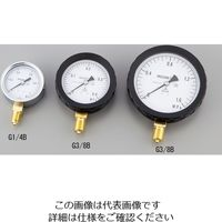 アズワン 汎用圧力計A形 φ75 G3/8B1.00 1個 1-7499-05 (直送品)
