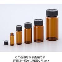 マルエム マイティバイアル 28mL 50本入 茶 No.6 1箱(50本) 1-8129-09 (直送品)