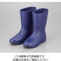 アズワン サニフィット耐油長靴(軽量タイプ) 24.0cm 青 女性用 1足 2-3810-02(直送品)