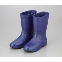 アズワン サニフィット耐油長靴(軽量タイプ) 25.0cm 青 女性用 1足 2-3810-03(直送品)